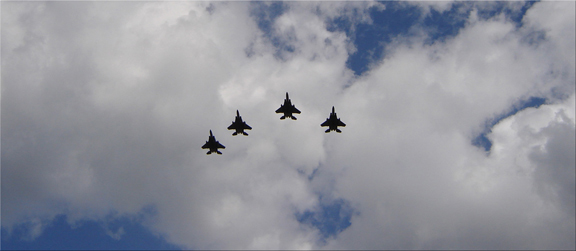 Memorial Day 2006 Fly-over