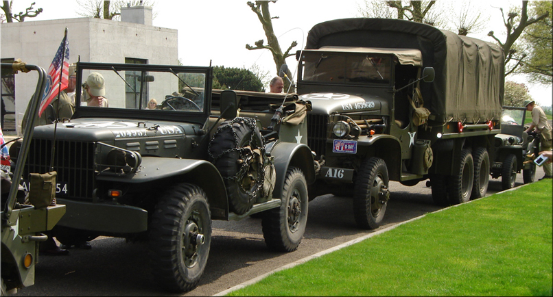 * DODGE WC-57 Command Car * GMC CCKW 353 * Willy's Jeep